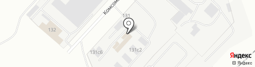 Царская рыбка на карте Магнитогорска