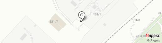 ПТОил на карте Магнитогорска
