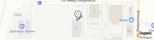 Гудвик на карте Магнитогорска