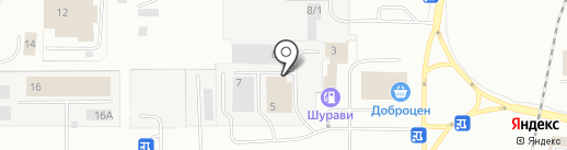 ЮНА на карте Магнитогорска