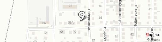 Автомастерская на карте Магнитогорска