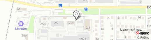 Аскона на карте Магнитогорска