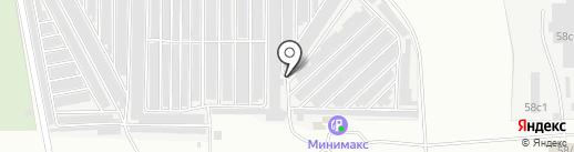 Спутник на карте Магнитогорска