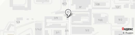 Вираж-М на карте Магнитогорска