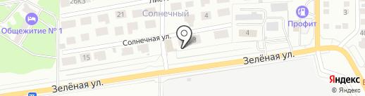 ПОДСОЛНУХ на карте Магнитогорска