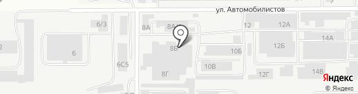Опт-Бизнес на карте Магнитогорска