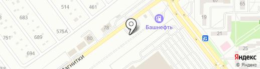 Гарантия на карте Магнитогорска