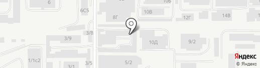 Маленькие стиляги на карте Магнитогорска