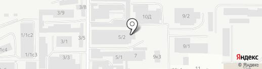Global Logistic на карте Магнитогорска