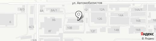 Шингареев на карте Магнитогорска