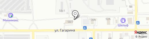 Автомоечный комплекс на карте Магнитогорска