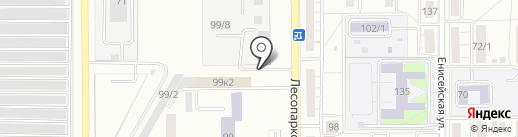 Полиграфический центр на карте Магнитогорска