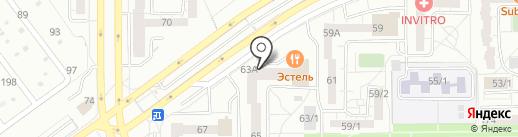 А-Элита на карте Магнитогорска