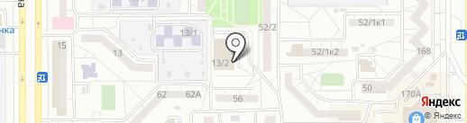 Танцевальный клуб на карте Магнитогорска