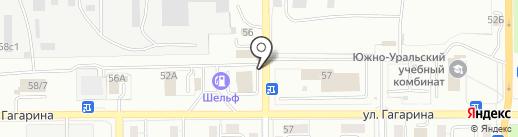 АВТОЛЮКС на карте Магнитогорска