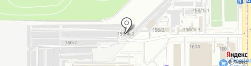 Бокс №33 на карте Магнитогорска