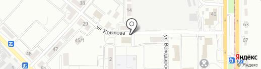 Баня на карте Магнитогорска