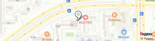 Мишутка на карте Магнитогорска