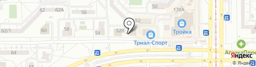 Мастерская по ремонту сотовых телефонов на карте Магнитогорска