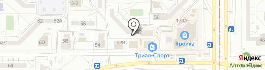 Средняя общеобразовательная школа №32 на карте Магнитогорска