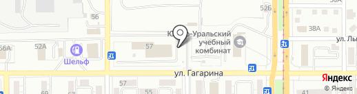 Unibrait на карте Магнитогорска