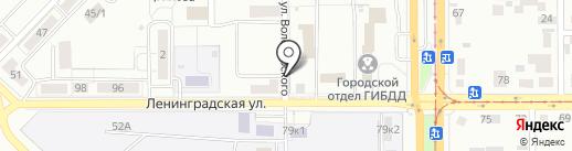 ЖЭУ №1 на карте Магнитогорска