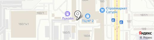 Двери Верда на карте Магнитогорска