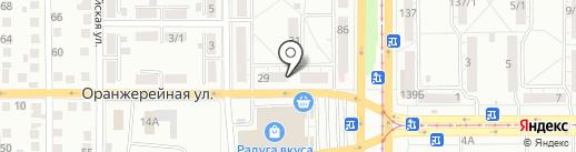 Альянс на карте Магнитогорска