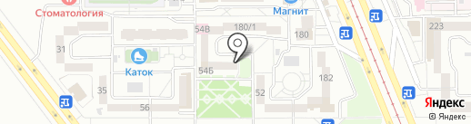 Зелёный Лог, 54, ТСЖ на карте Магнитогорска