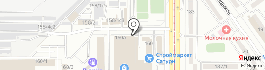 Автомагазин на карте Магнитогорска