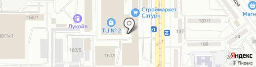 Перец на карте Магнитогорска