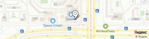 Магазин материалов для наращивания ногтей на карте Магнитогорска