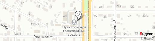 АвтоЭксперт на карте Магнитогорска