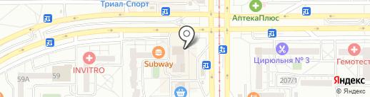 Каприз на карте Магнитогорска