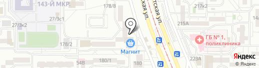 Актив на карте Магнитогорска