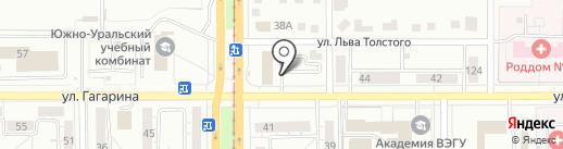 Кабинет психотерапевта Марины Еткаревой на карте Магнитогорска