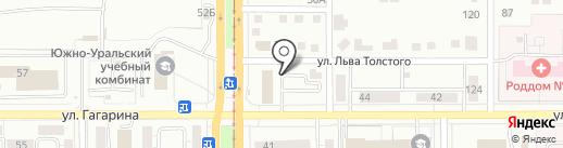 Система плюс на карте Магнитогорска