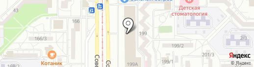 Корпорация Центр на карте Магнитогорска