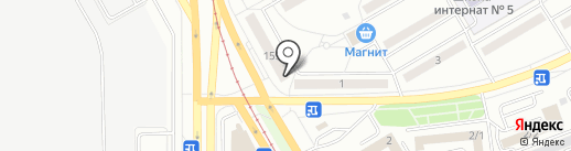 Вариант-М на карте Магнитогорска