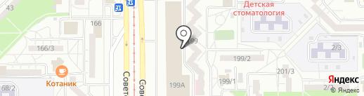 Автовокзал на карте Магнитогорска