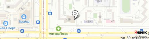 Белка на карте Магнитогорска