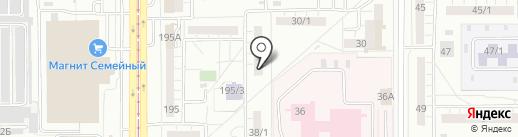 ТСЖ №58 на карте Магнитогорска
