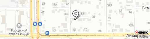 МагТент на карте Магнитогорска