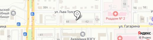 Люкс-отель на карте Магнитогорска