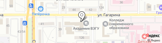 Уральский Резерв, КПК на карте Магнитогорска