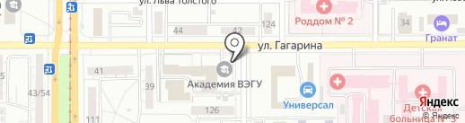 Массажный кабинет на карте Магнитогорска