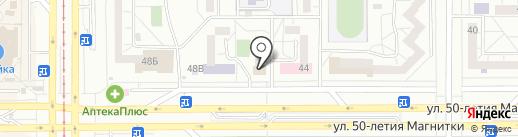 Магнитогорская Центральная детская библиотека им. Н.Г. Кондратковской на карте Магнитогорска