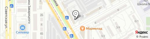 1 АВТОСТЕКЛОЦЕНТР на карте Магнитогорска
