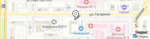 ГАРАНТ на карте Магнитогорска