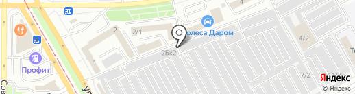 Пятое колесо на карте Магнитогорска